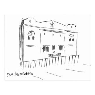Kestenbaum Crown Heights Synagogue Postcard