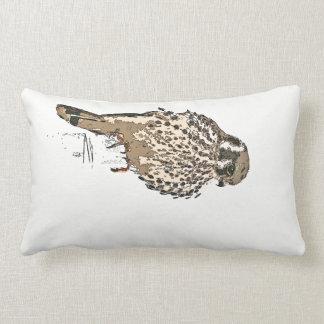 Kestral Falcon Bird Wildlife Animal Throw Pillow
