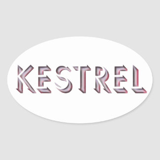 Kestrel sticker