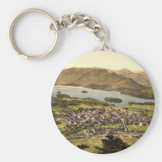 Keswick II, Derwentwater, Lake District, England Keychain