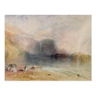 Keswick Lake, Cumberland Postcard