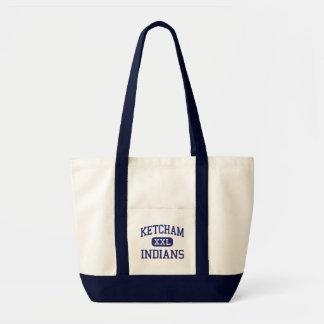Ketcham - Indians - High - Wappingers Falls Tote Bag