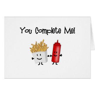 Ketchup and Fries! Card