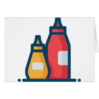 Ketchup and Mustard Card