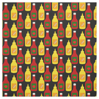 Ketchup and Mustard Fabric