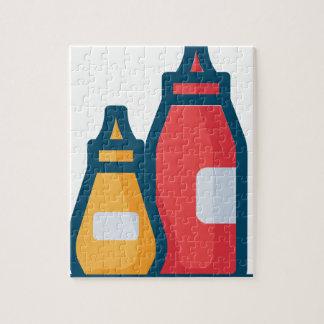 Ketchup and Mustard Jigsaw Puzzle