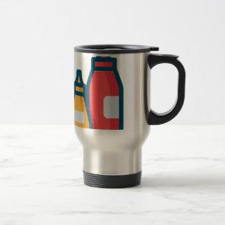 Ketchup and Mustard Travel Mug