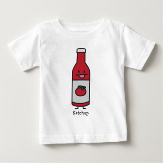 Ketchup Bottle Tomato Sauce Table condiment fancy Baby T-Shirt