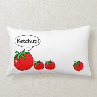 Ketchup Joke Pillow