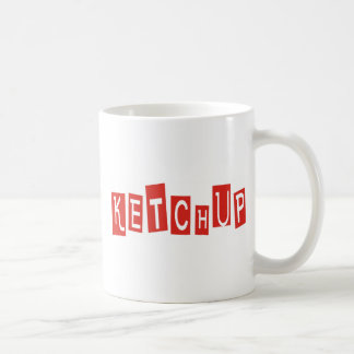 Ketchup Products & Designs! Classic White Coffee Mug