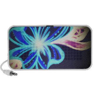 Ketmie bleue haut-parleur portable