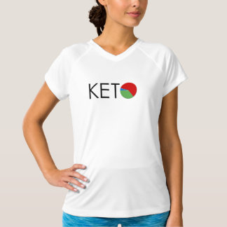 KETO Diet Macro Women's Dry-Fit T-Shirt