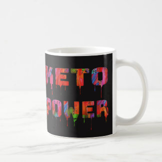 Keto Power Coffee Mugs for Low Carb Dieters