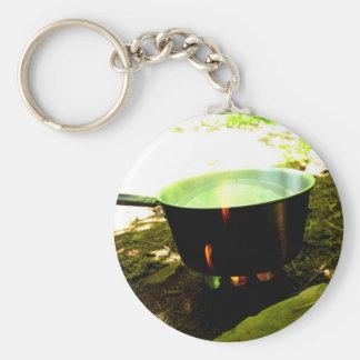 Kettle Burn Keychain