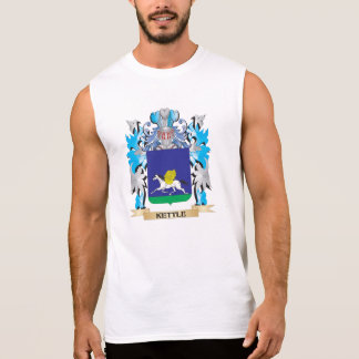 Kettle Coat of Arms - Family Crest Sleeveless Tee