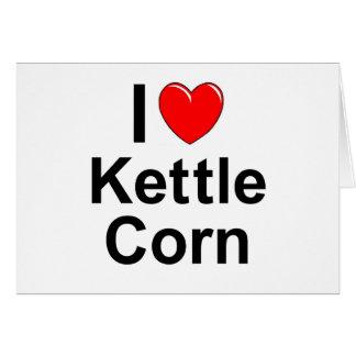 Kettle Corn Card