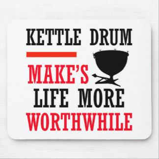 kettle drum design mouse pad