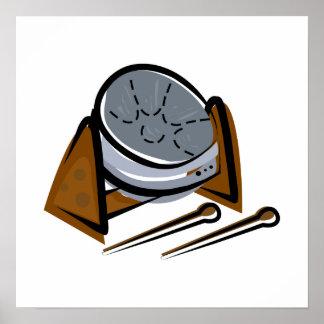Kettle drum print
