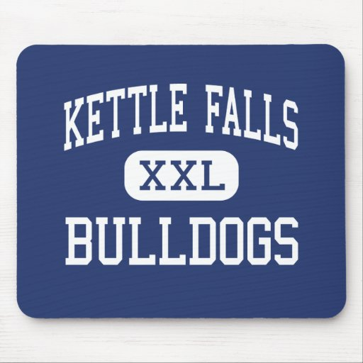 Kettle Falls Bulldogs Middle Kettle Falls Mouse Pad