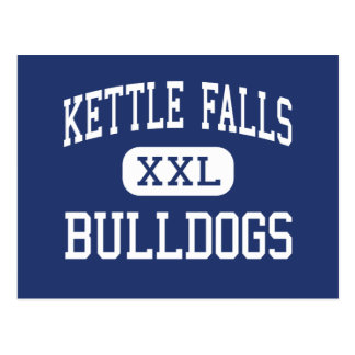 Kettle Falls Bulldogs Middle Kettle Falls Postcard