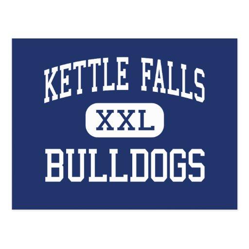 Kettle Falls Bulldogs Middle Kettle Falls Postcards