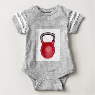 Kettlebell Baby Bodysuit