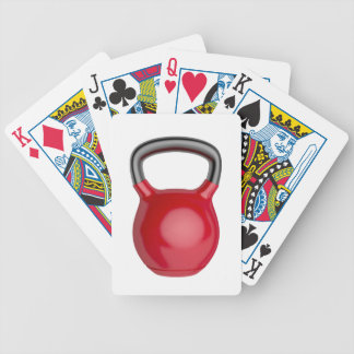 Kettlebell Bicycle Playing Cards