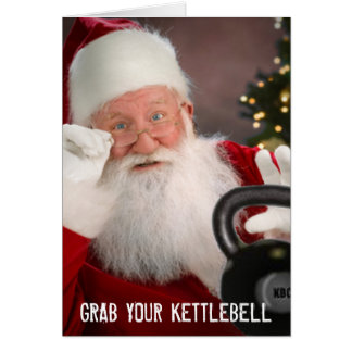 Kettlebell Christmas Card