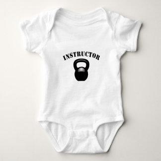Kettlebell Instructor Black Baby Bodysuit