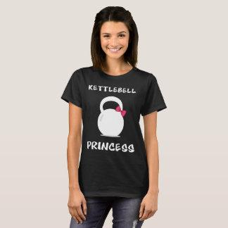 Kettlebell Princess Weightlifting Workout T-Shirt