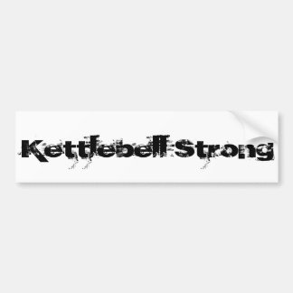 Kettlebell Strong Bumper Sticker