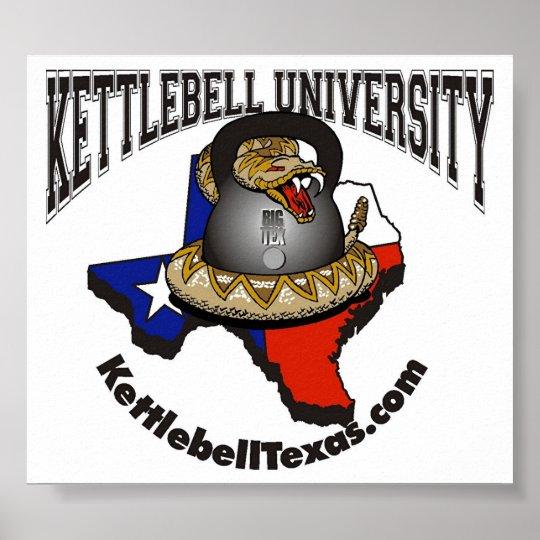 Kettlebell University large Poster