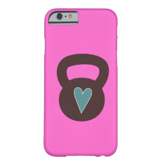 Kettlebell With A Heart Barely There iPhone 6 Case