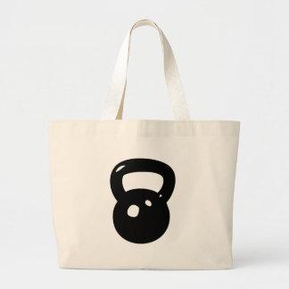 Kettlebell Workout Jumbo Tote Bag