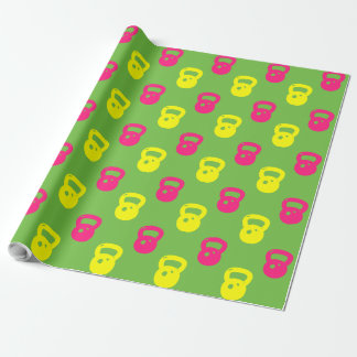 Kettlebell Wrapping Paper -