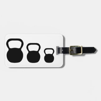 Kettlebells Luggage Tag