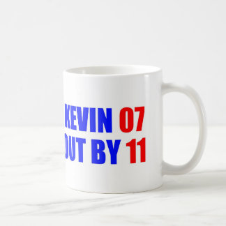Kevin 07 Out by 11 Coffee Mug