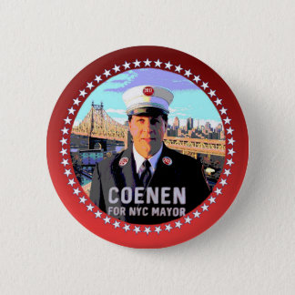 Kevin Coenen NYC Mayor 2017 2 Inch Round Button