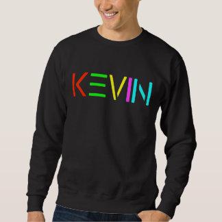 Kevin SPIRIT logo on black Sweatshirt