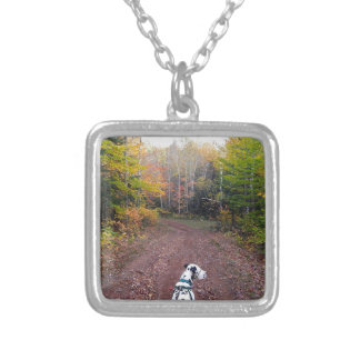 Kevin the Dalmatian Silver Plated Necklace