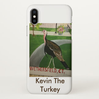 Kevin The Turkey Gifts iPhone X Case