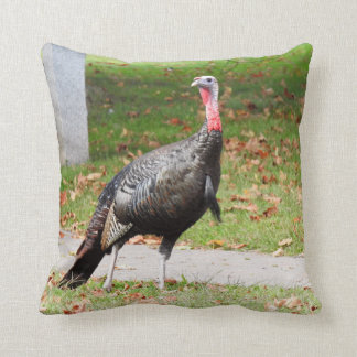 Kevin The Turkey - Old Wethersfield , CT (2 Sides) Throw Pillow