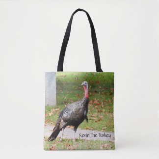 Kevin The Turkey - Old Wethersfield , CT (2 Sides) Tote Bag