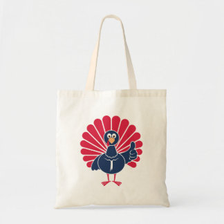 Kevin the Turkey Thumbs Up Tote