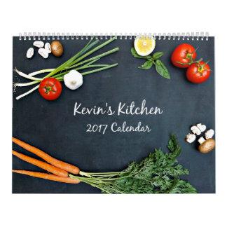 Kevin's Kitchen 2017 Calendar