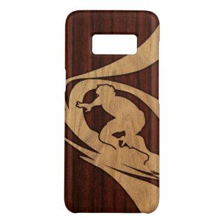 Kewalos Hawaiian Surfer Faux Wood Case-Mate Samsung Galaxy S8 Case