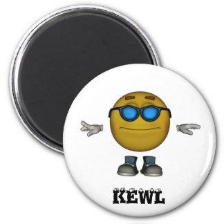 KEWL Emoticon Magnet