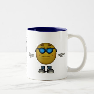 KEWL Emoticon Mug