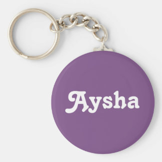 Key Chain Aysha