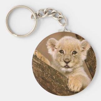 Key Chain: Baby Lion Key Chain